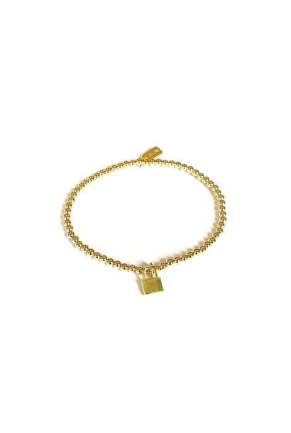 Bracelet gold lock small