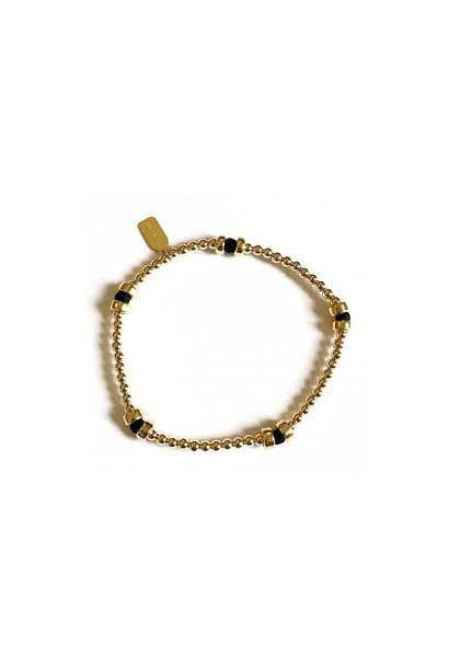 Rondel black gold