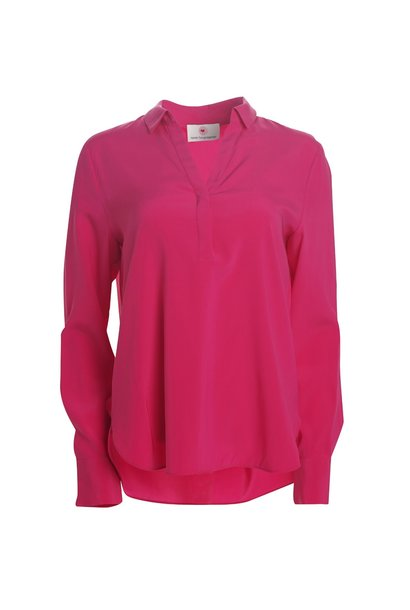 Blouse shock pink