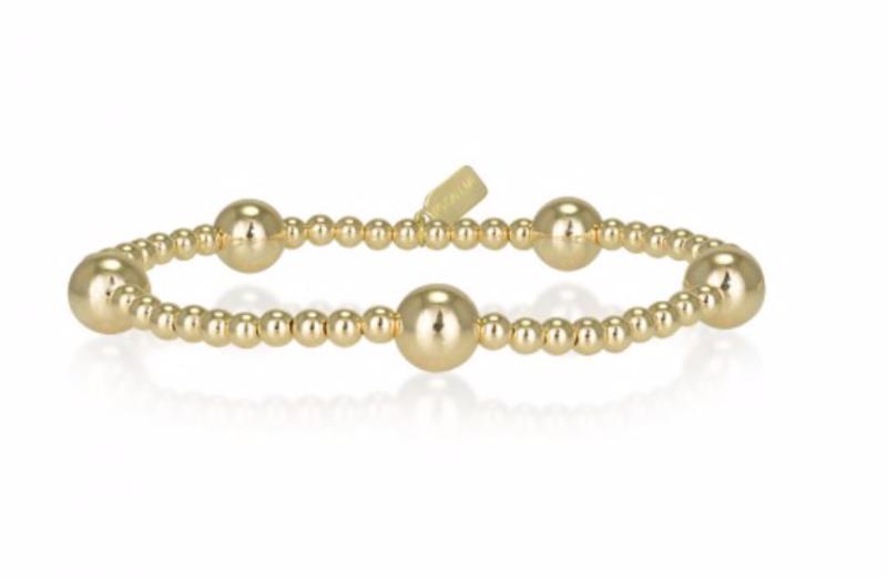 Ps Call Me Bracelet gold dot 5