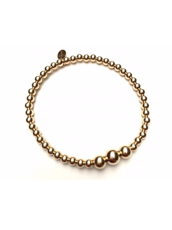 Ps Call Me Bracelet gold three