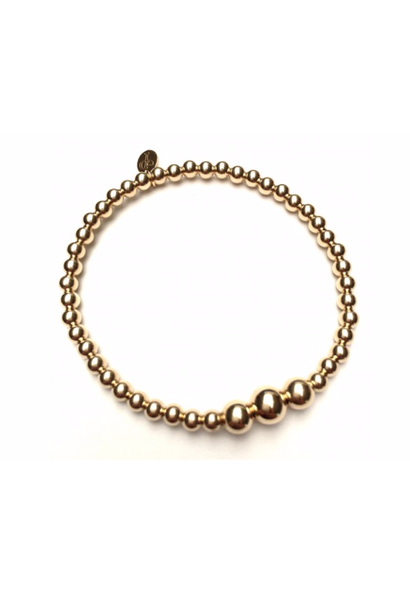 Bracelet gold three