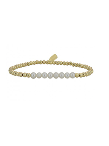 Ps Call Me Bracelet gold change pearl