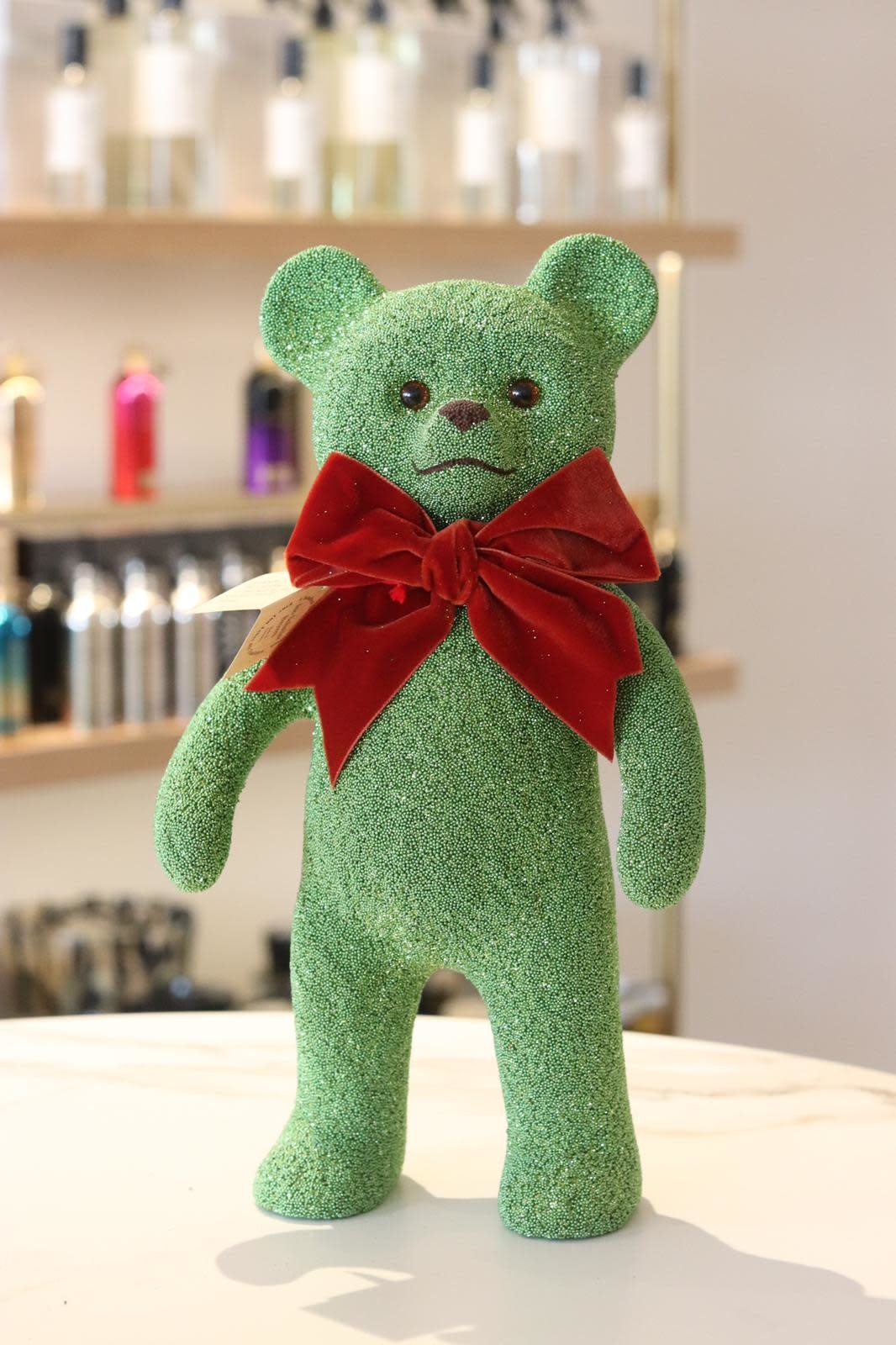 Teddy bear light green-1