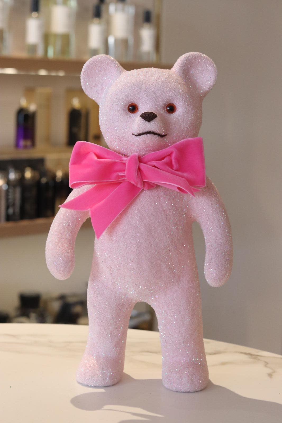 Teddy bear soft pink-1
