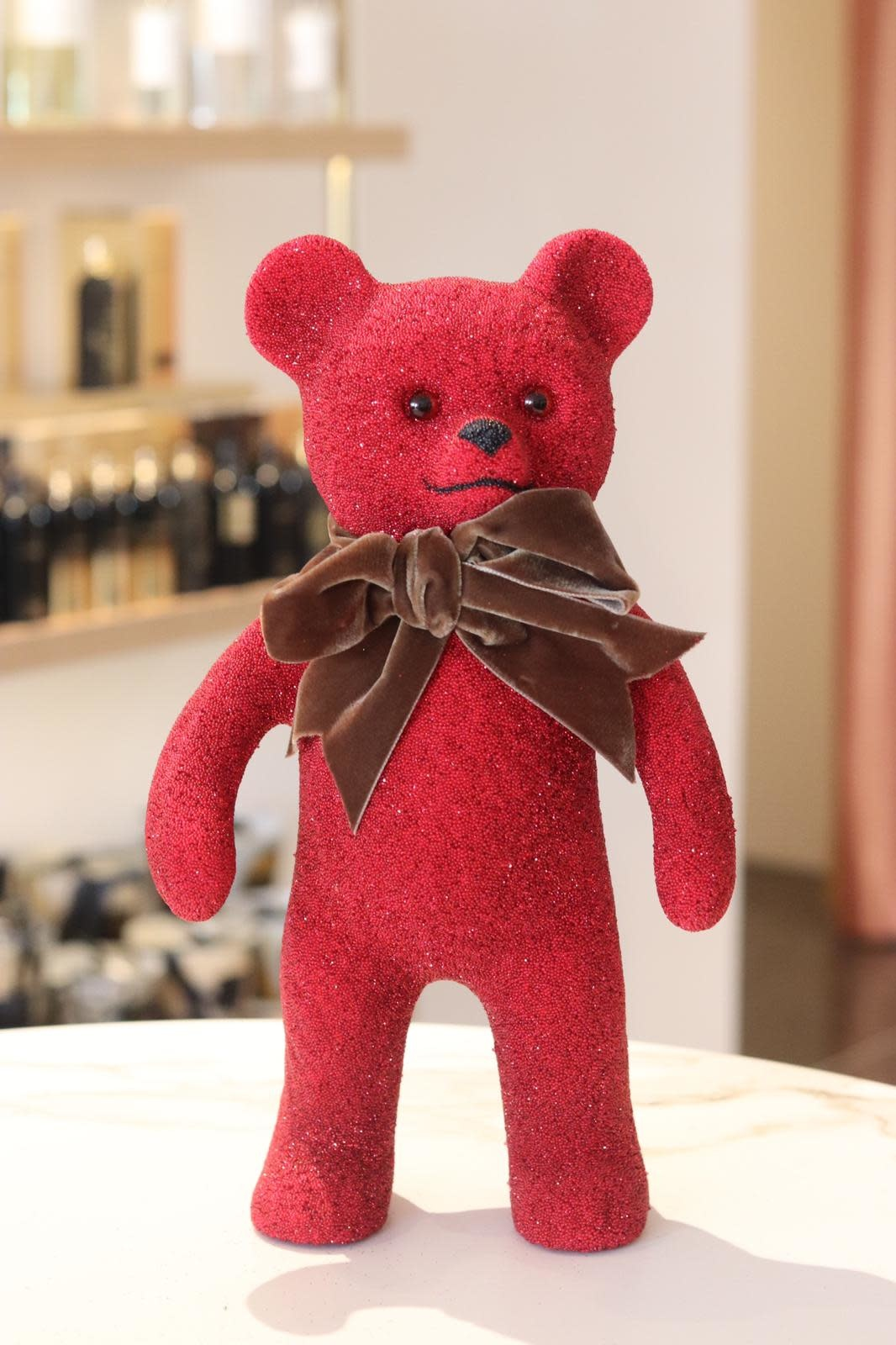 Teddy bear red-1