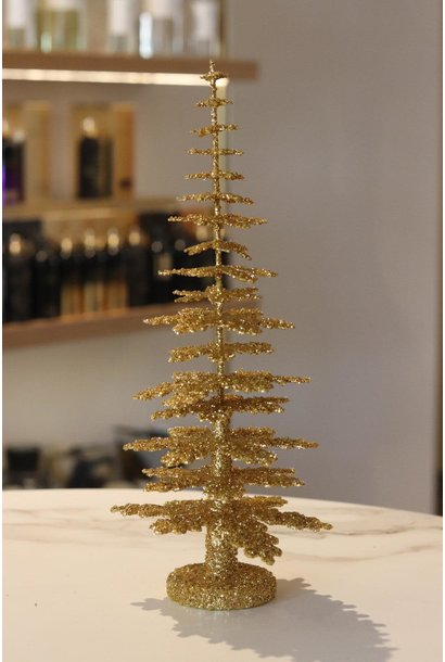 Christmas tree gold Middel (30 cm)