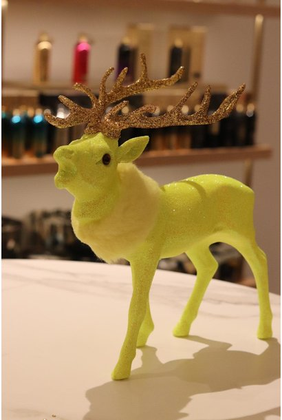 Reindeer fluo yellow M