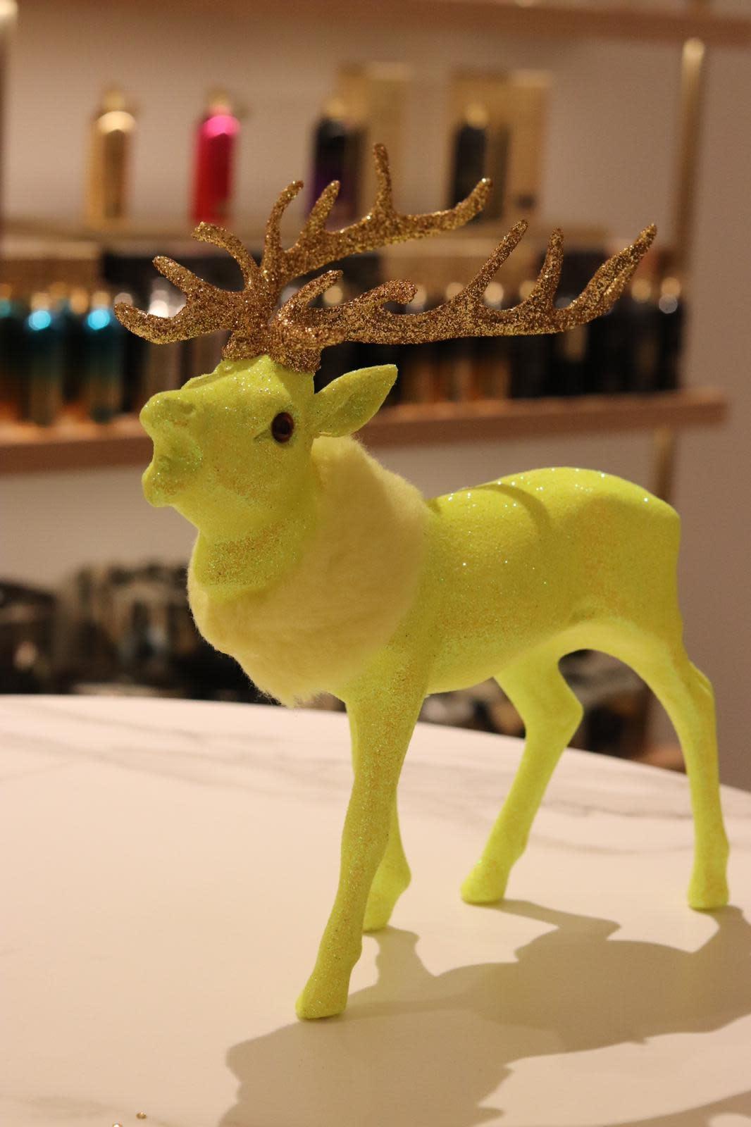 Reindeer fluo yellow M-2
