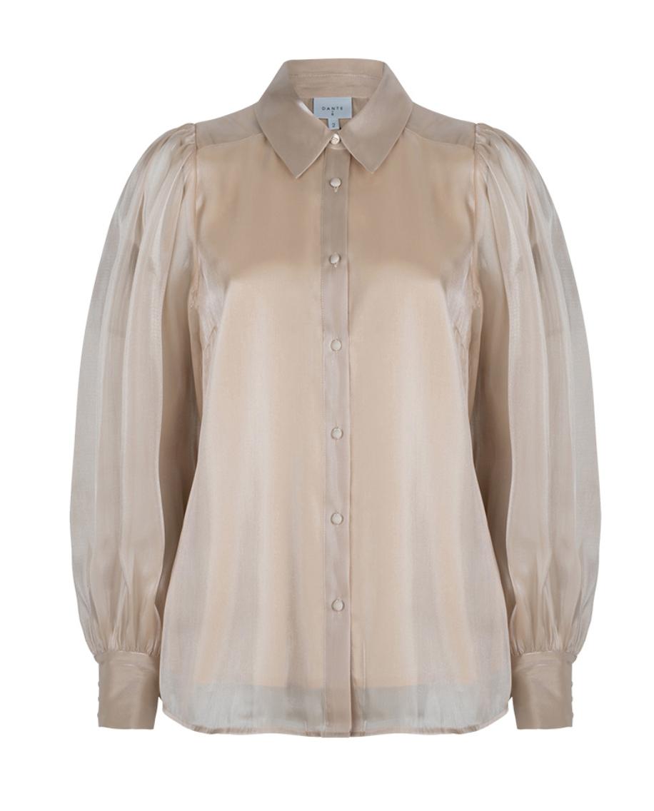 Mauri organza blouse-1
