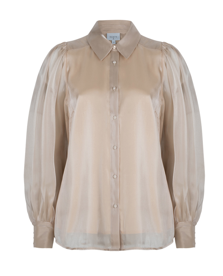 Mauri organza blouse-3