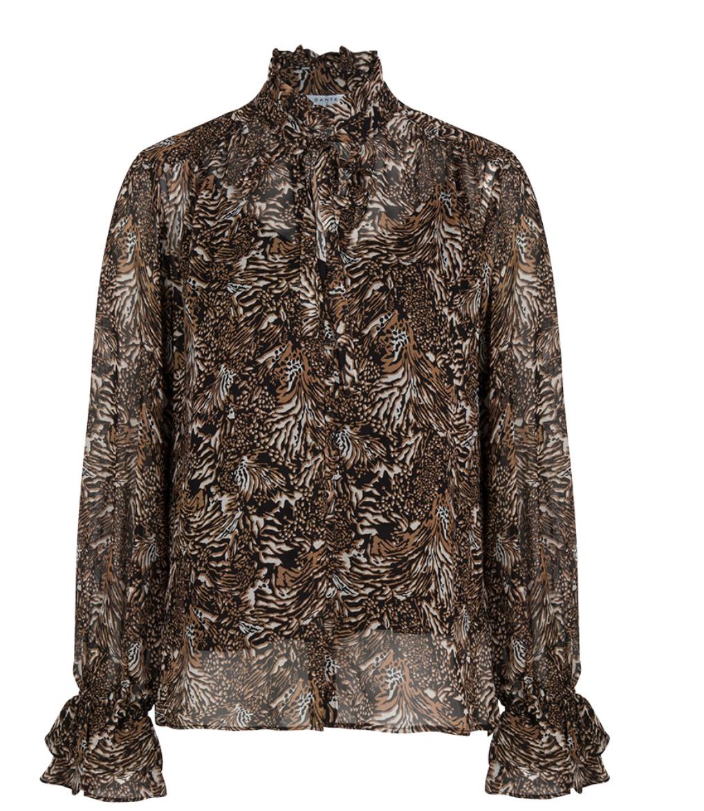 Nova animal print blouse-1