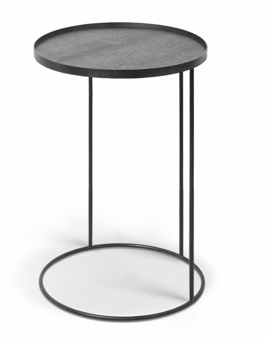 Round tray side table-1