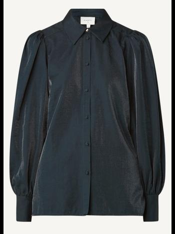 Dante 6 Mauri organza blouse black