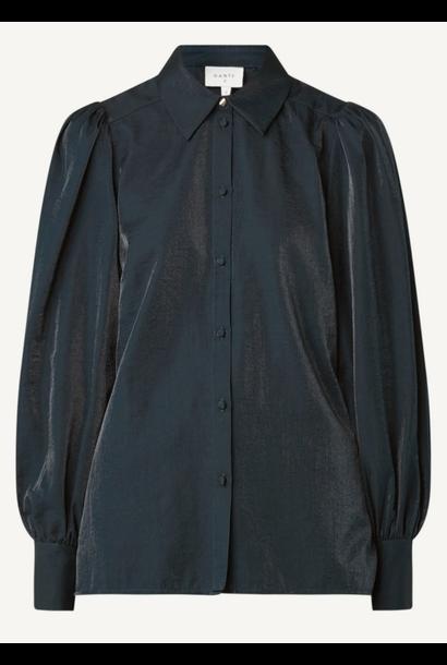 Mauri organza blouse black