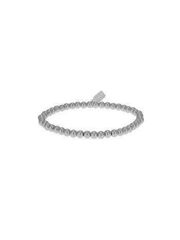 Ps Call Me Bracelet basic zilver 4mm