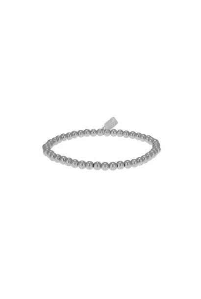 Bracelet basic zilver 4mm