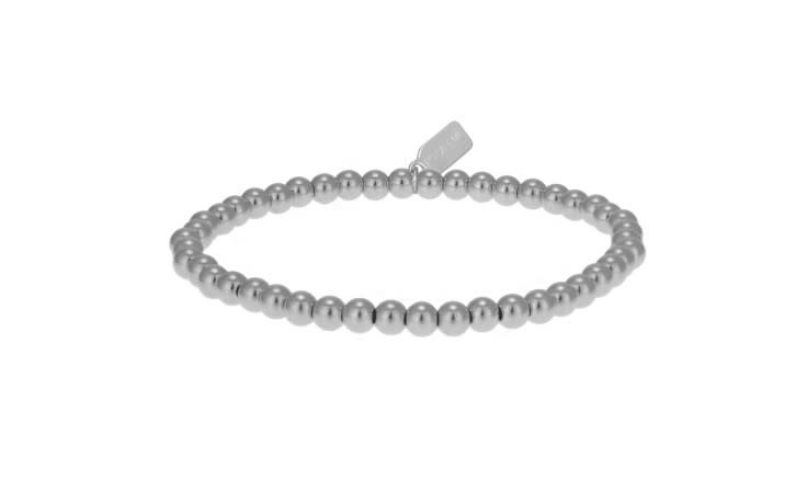 Bracelet basic zilver 4mm-1