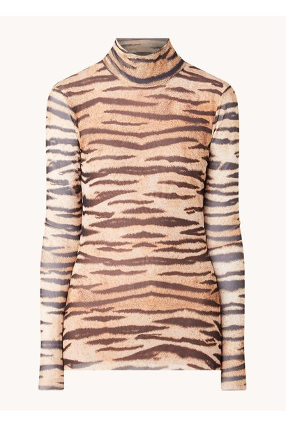 Jodi top Natural Tiger