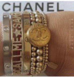 Bracelet Vintage Chanel x PS Call me-2