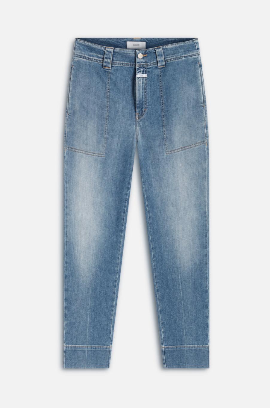 Josy a better blue jeans mid blue-1
