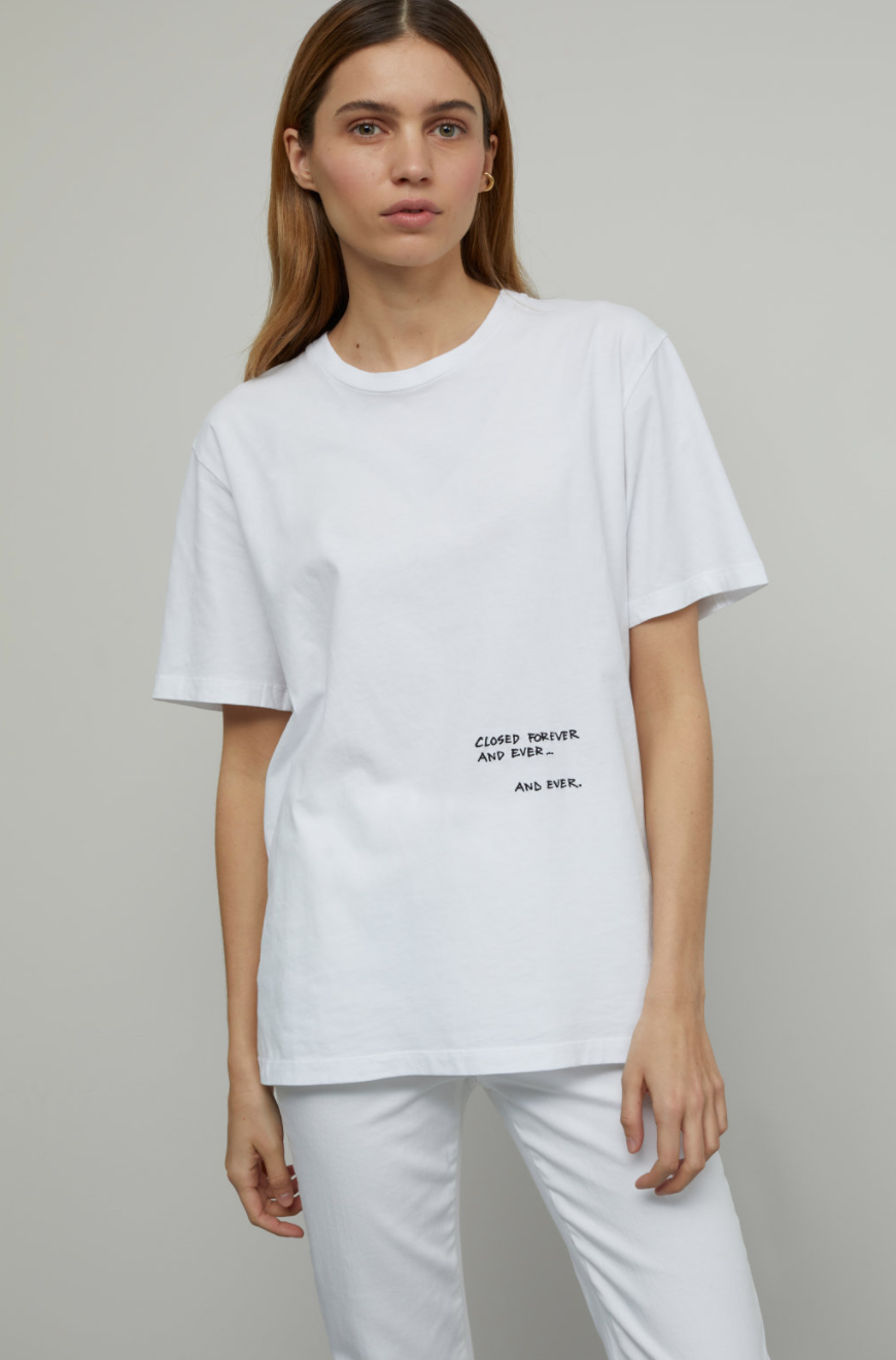 Tee with Embroidery-2