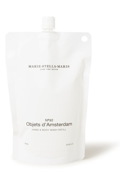 Hand & body wash Objets d'Amsterdam refill 600ML
