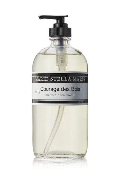 Hand & body wash Courages des Bois 470ML