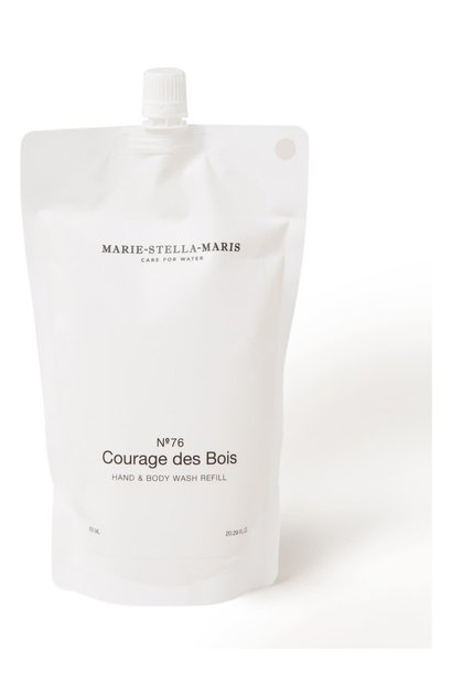 Hand & body wash Courages des Bois refill 600ML