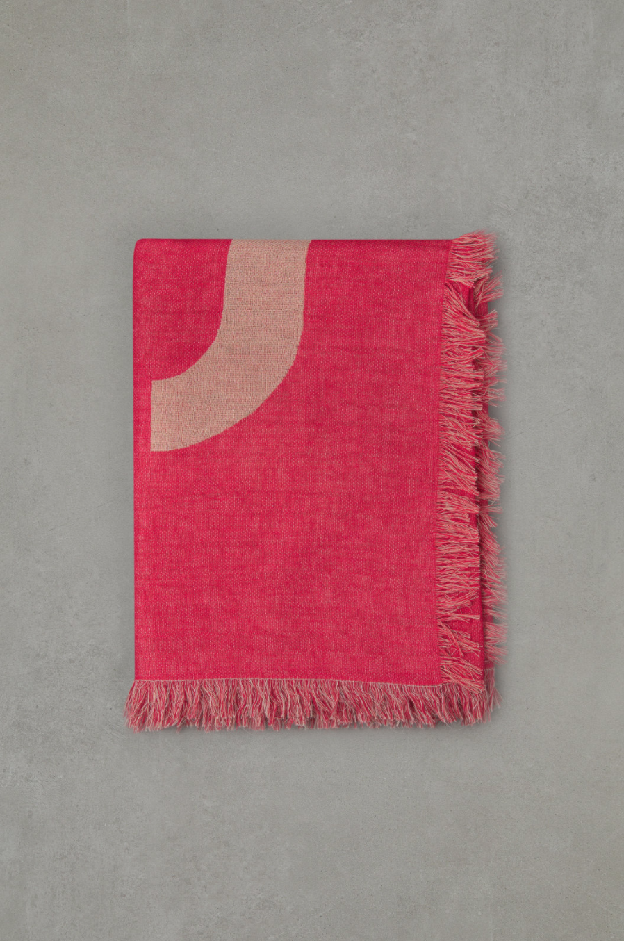 Scarf  amaranth red-2