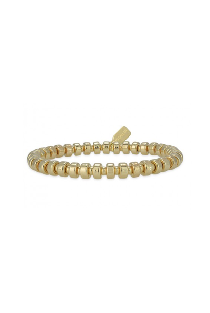 Bracelet basic wheel 5mm gold