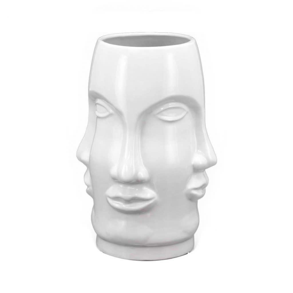 PRE ORDER Vase face white-1