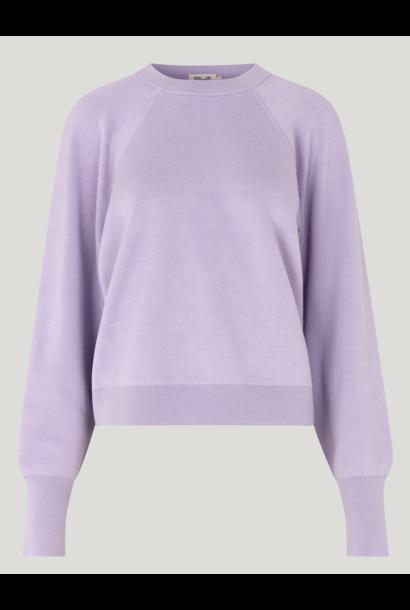 Cyreena sweater pastel lilac