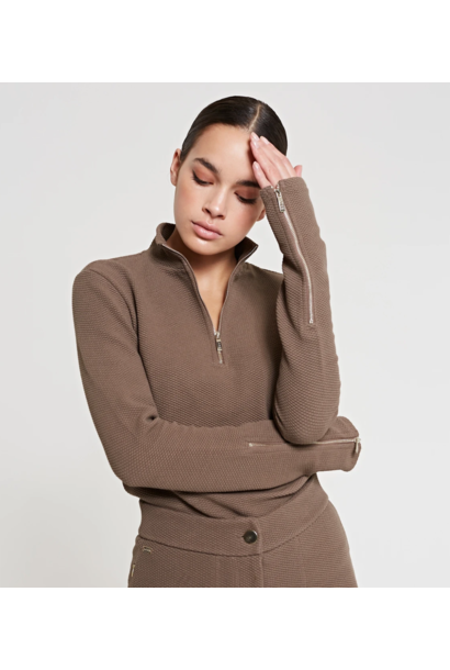 Moon top taupe