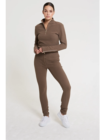 Lune Active Moon jogger taupe