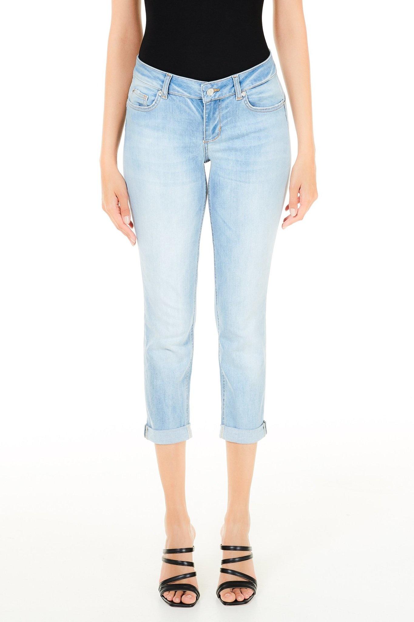 Jeans bottom up Monroe light blue-1
