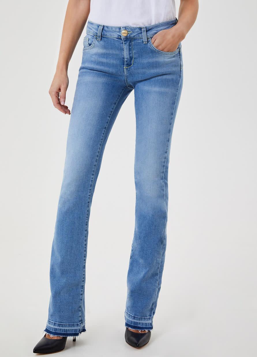 Jeans boot cut denim blue-1