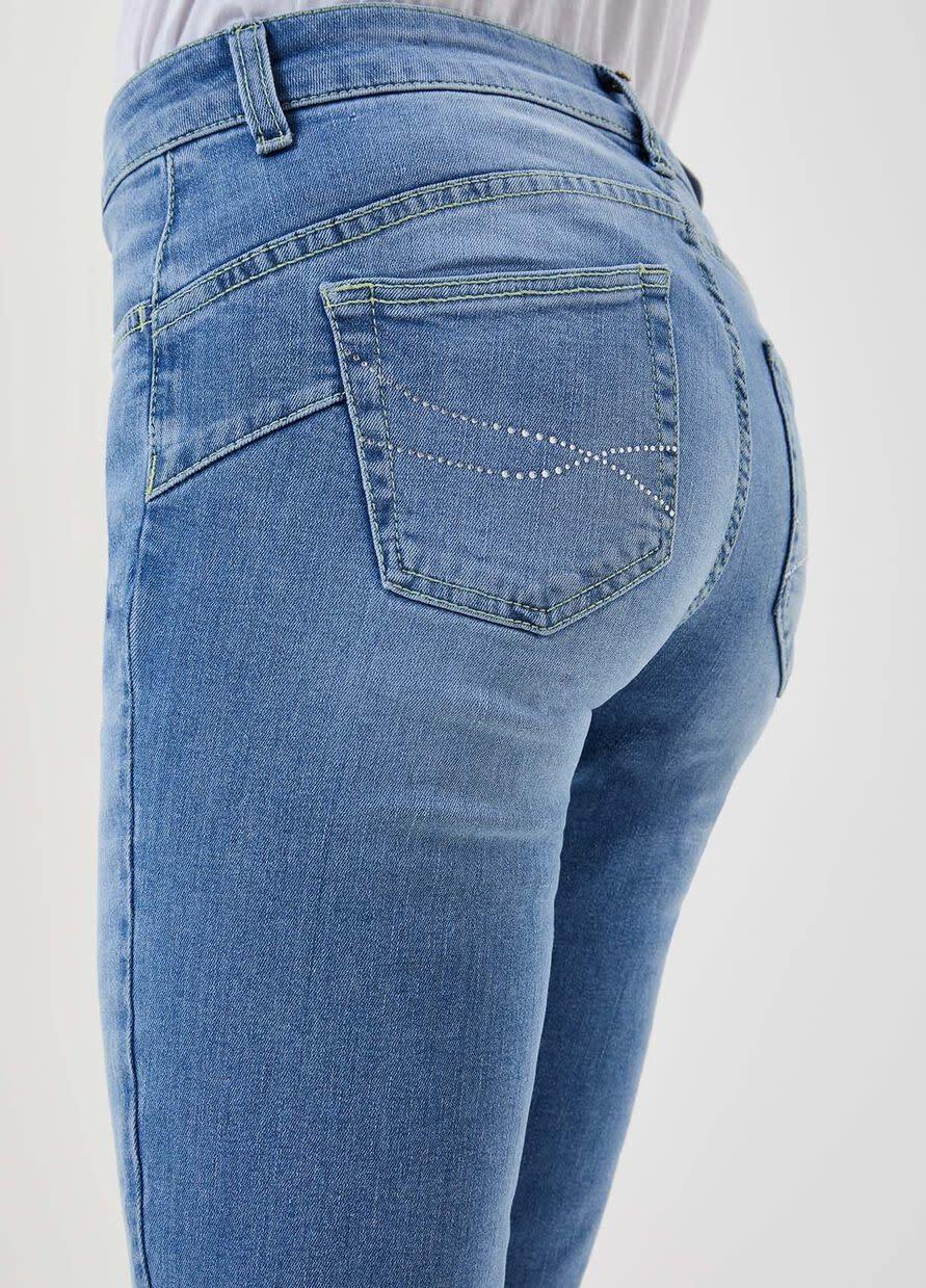 Jeans boot cut denim blue-3