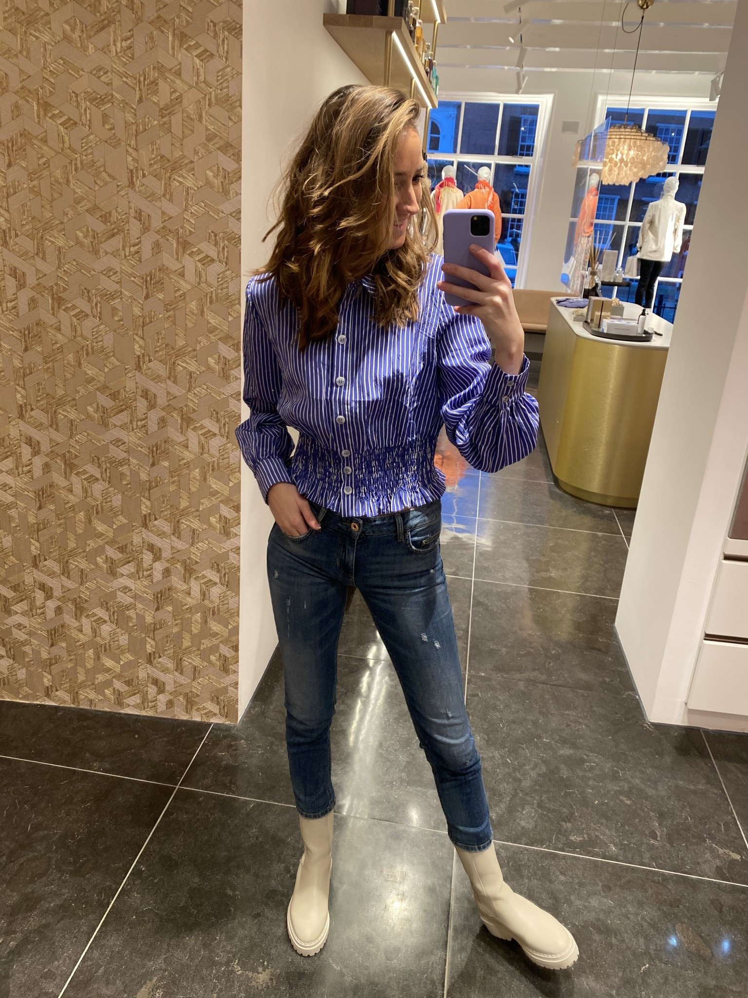 Jeans Monroe denim blue-1