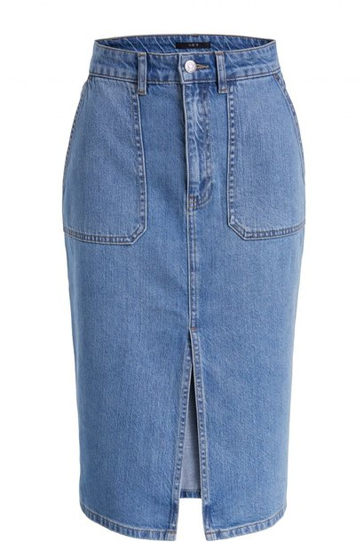 Skirt denim surf blue