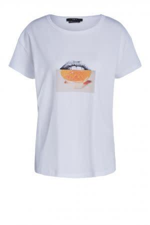 Tee orange lips-1