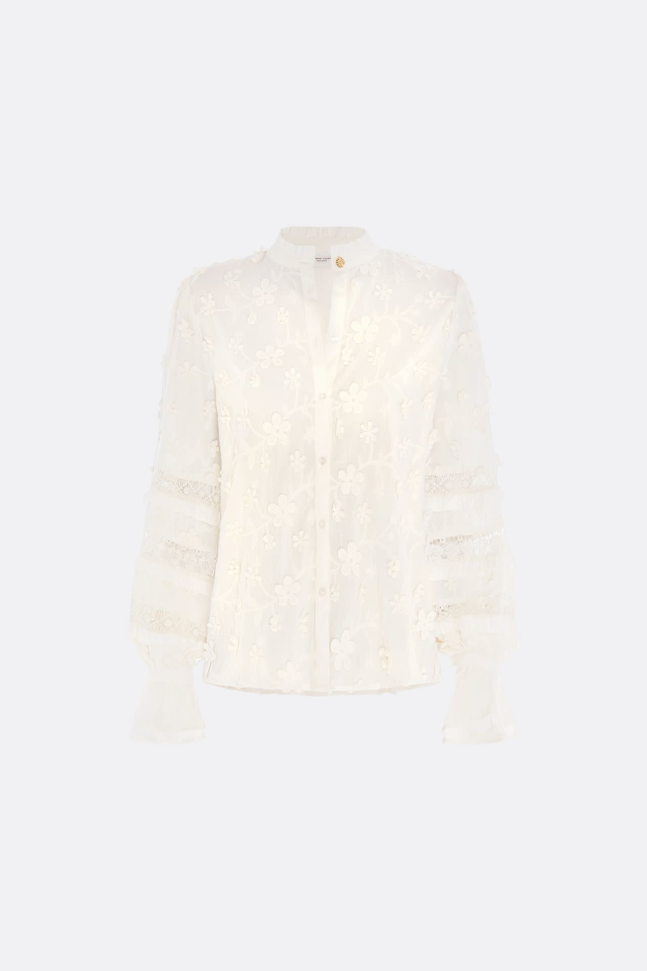 Leo blouse white-2