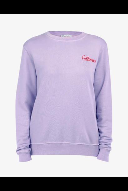 Sweater Kourtney lila