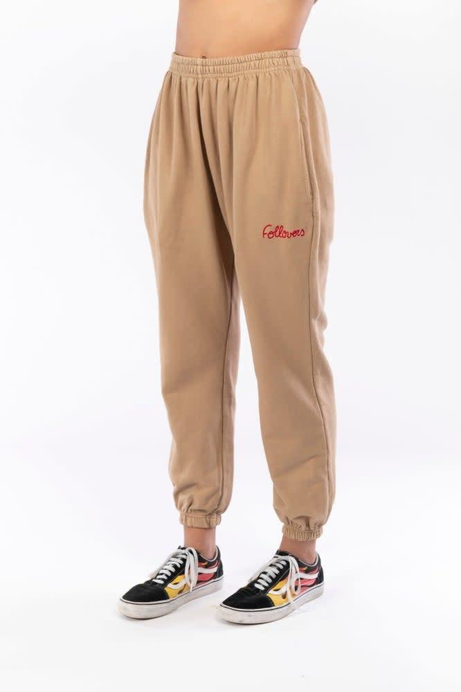 Jogger Kim camel-1