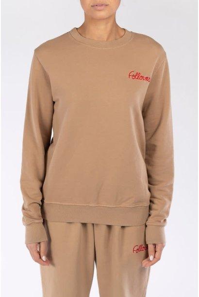 Sweater Kourtney camel