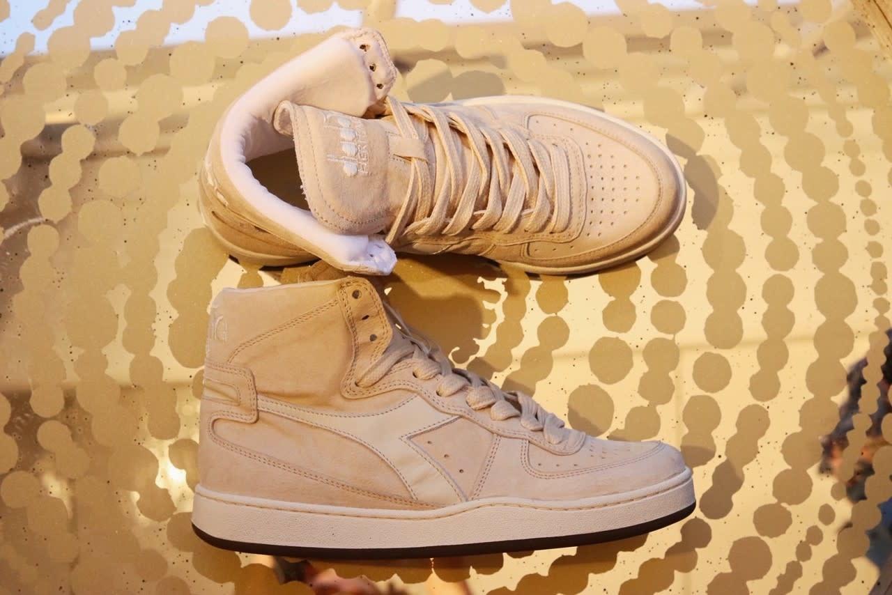 Sneaker basket suede used beige/ fog-4