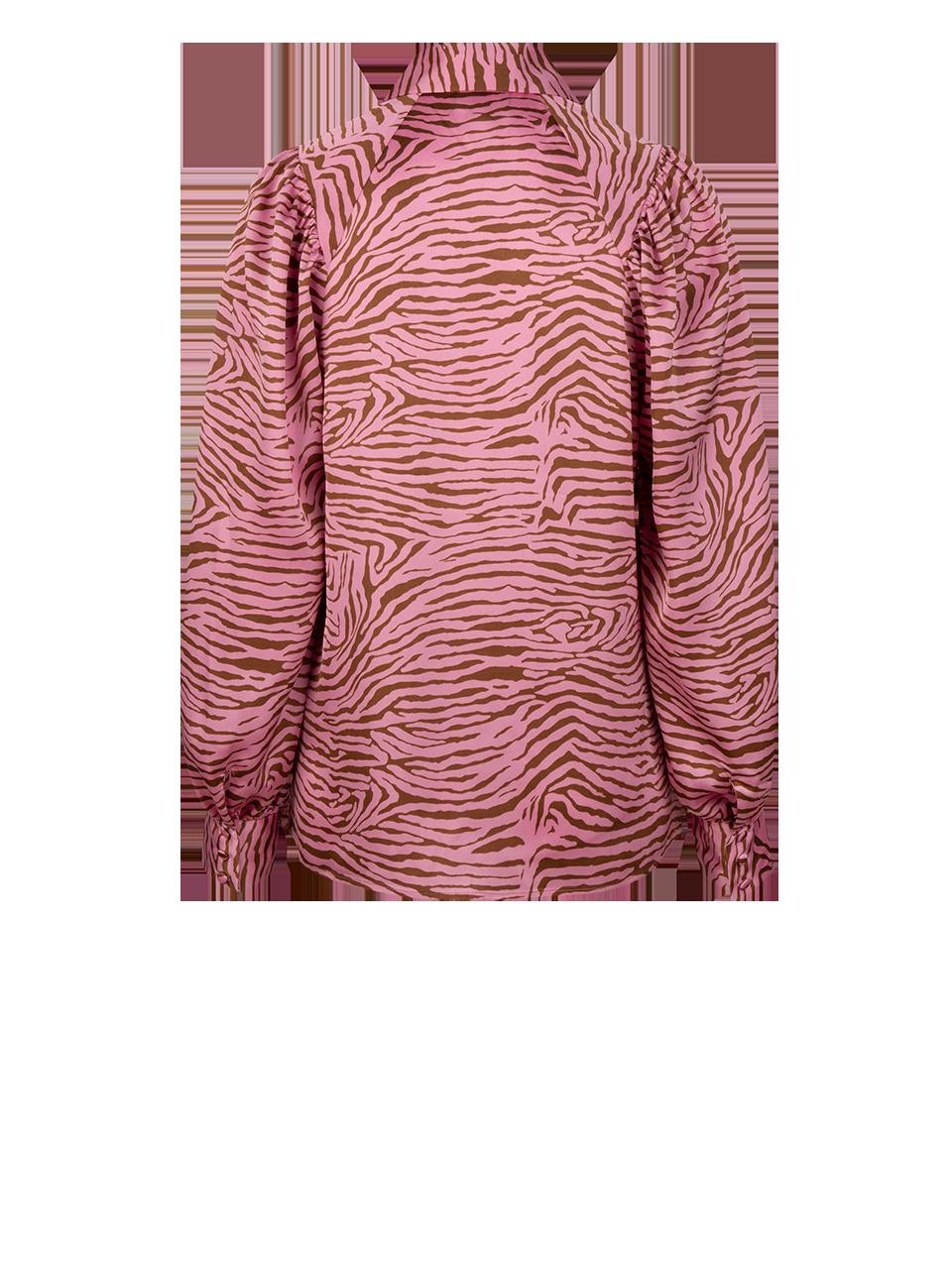 Lua tiger print blouse-2