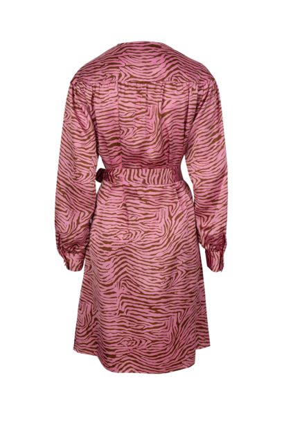 Roisin tiger print dress