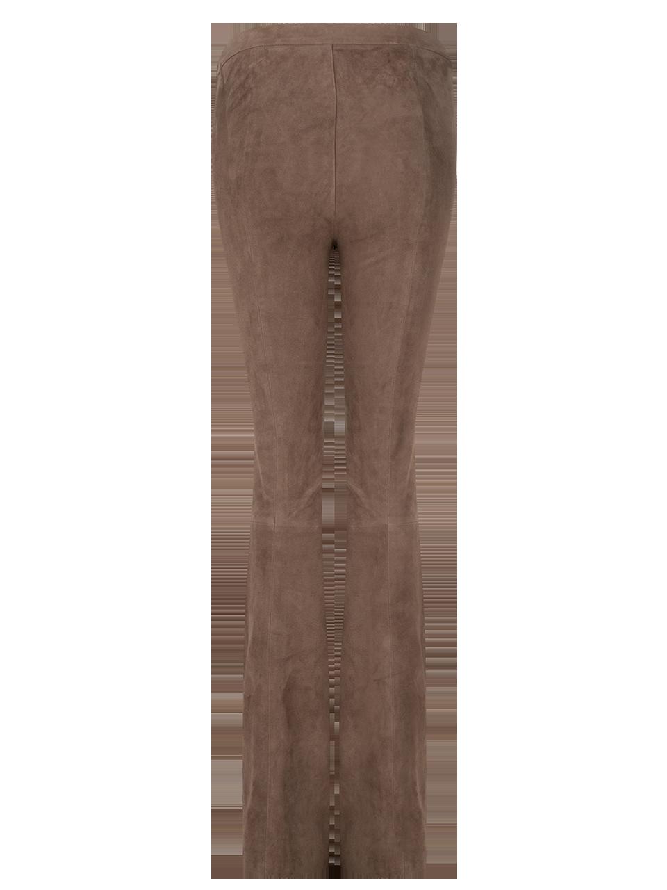 Dollmann flare suede pants-1