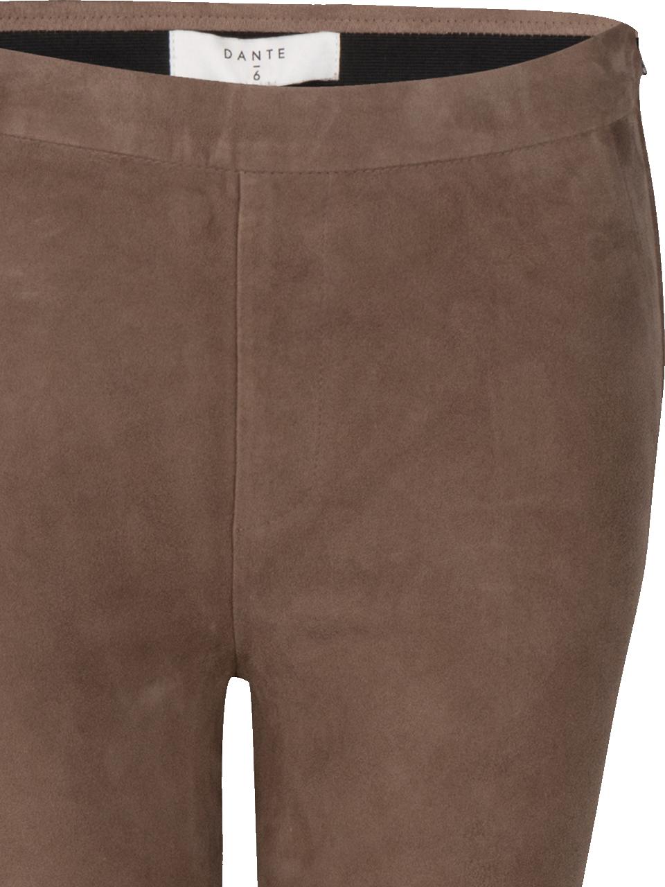 Dollmann flare suede pants-3